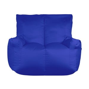 Modrý sedací vak pro dva Sit and Chill Coron