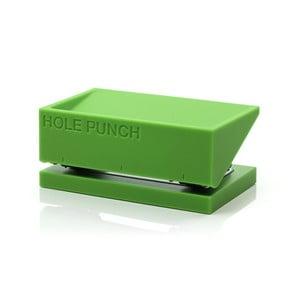 Děrovačka BURO, zelená