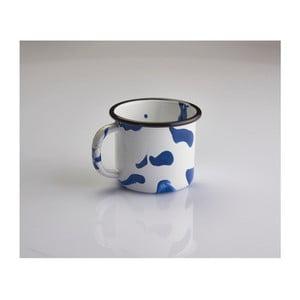 Cană emailată Kapka Little Color, 350ml, albastru - alb