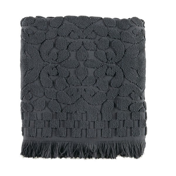 Osuška Voga Black, 70x140 cm