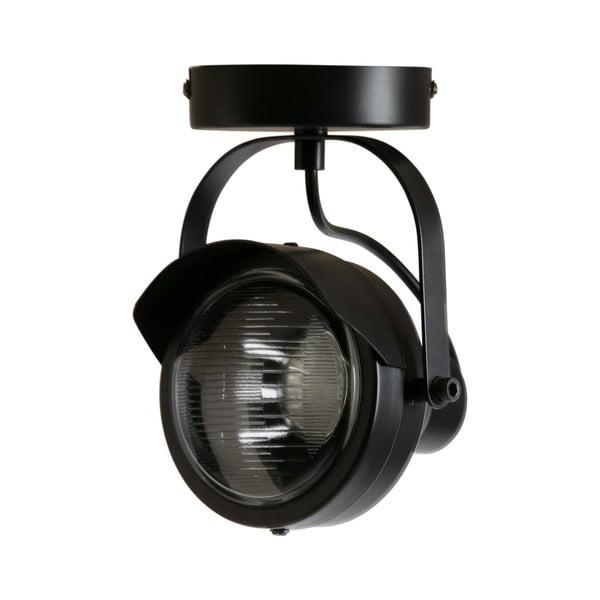 Černé kovové stropní svítidlo WOOOD Lester