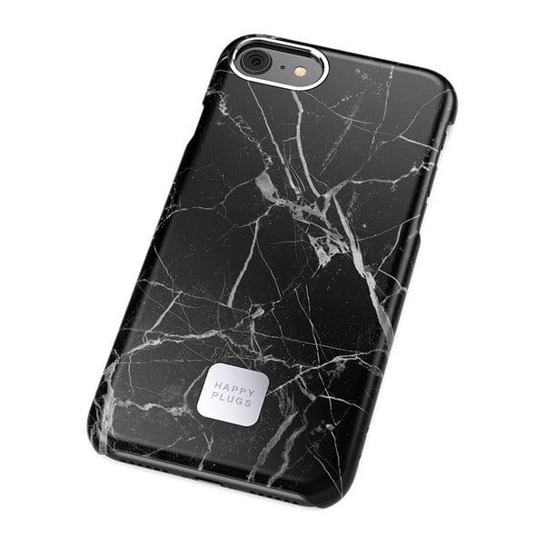 Husă protecție telefon pentru iPhone 7 și 8 Happy Plugs Slim, negru - gri