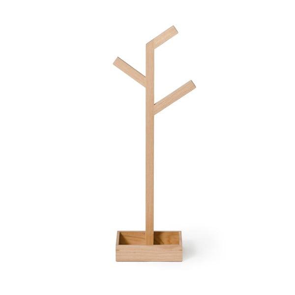 Stojan na osušky z dubového dreva Wireworks Mezza Branch