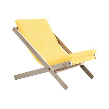 Fotoliu pliant Karup Design Boogie Raw/Yellow de la Karup Design