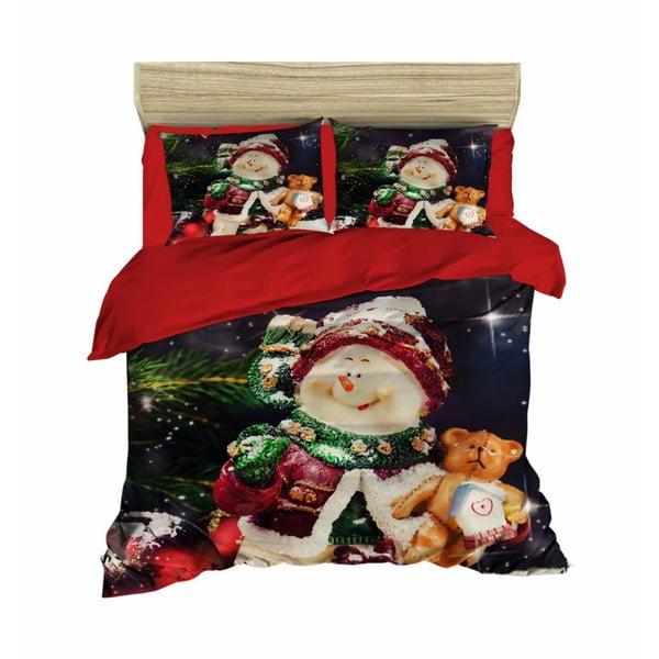 Simon karácsonyi, kétszemélyes ágyneműhuzat lepedővel, 160 x 220 cm