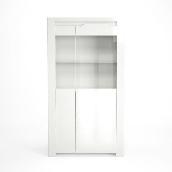 Biała witryna Artemob Orlando, 92x168 cm