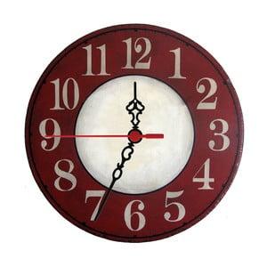 Nástěnné hodiny Red Trouble, 30 cm