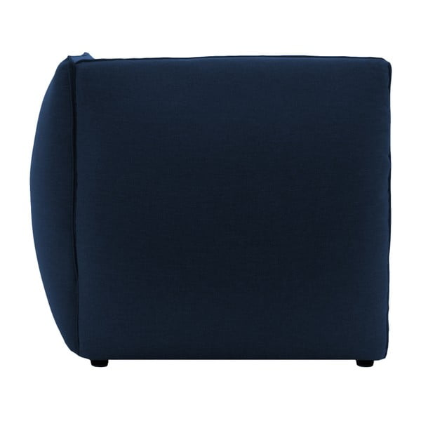 Tmavě modrá třímístná modulová pohovka Vivonita Cube