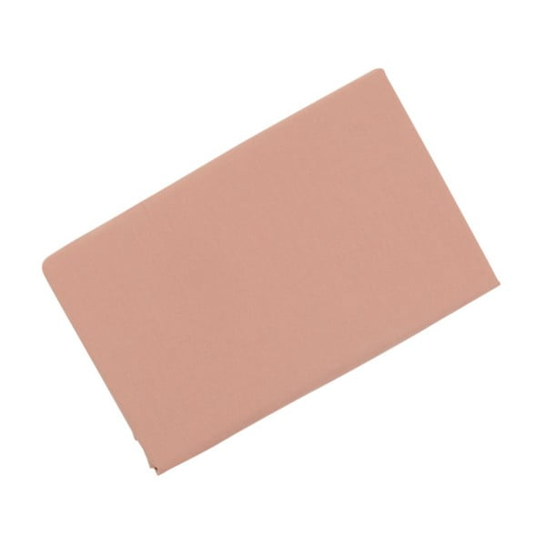 Bavlněné prostěradlo Peach, 100x200cm