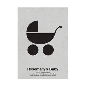 Plakát Rosemary's baby, 29,7x42 cm, limitovaná edice
