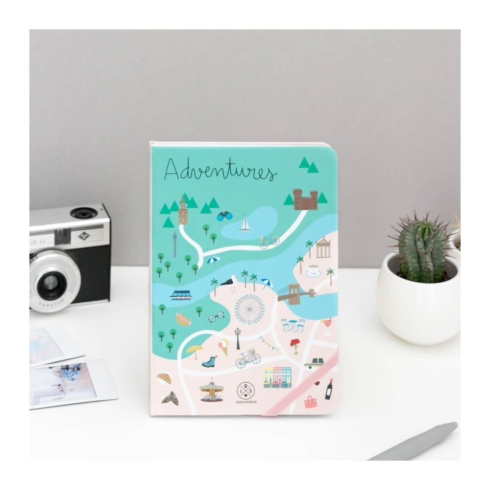Zápisník Mr. Wonderful Adventures, 160 stran