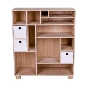 Comodă din lemn House Nordic Livorno