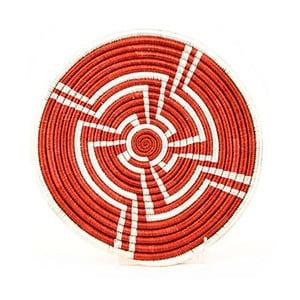 Suport pentru oală fierbinte împletit manual All across Africa Opeyemi, Ø25,4cm