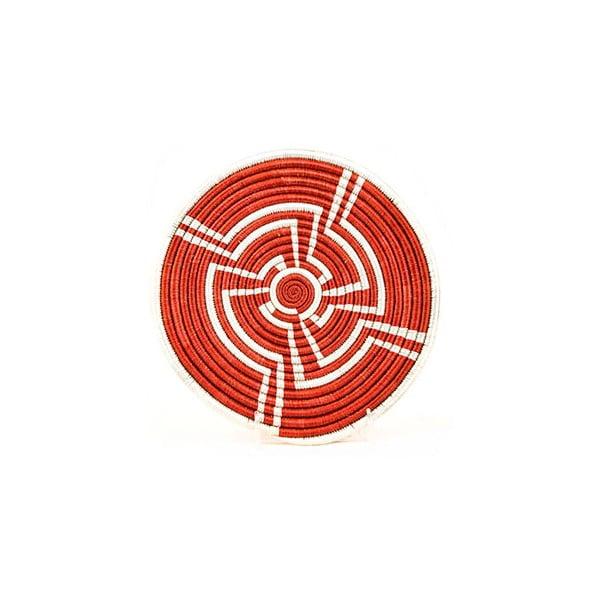 Ručne pletená podložka pod horúce nádoby All across Africa Opeyemi, Ø25,4cm