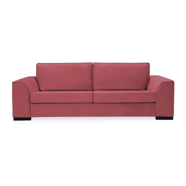 Canapea cu 3 locuri Vivonita Bronson, roşu