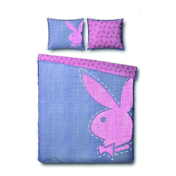 Povlečení Playboy Jeans Bunny, 200x200 cm