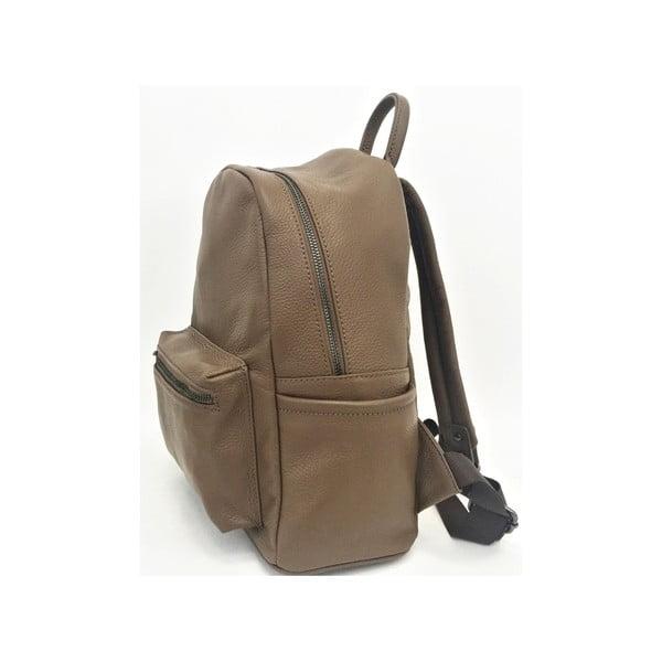 Kožený batoh Momo Taupe