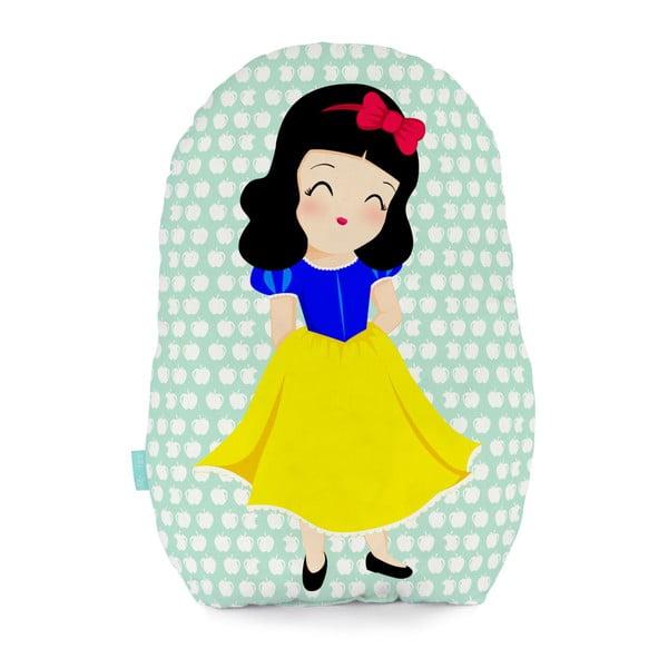 Bavlnený vankúšik Mr. Fox Snow White, 40 × 30 cm