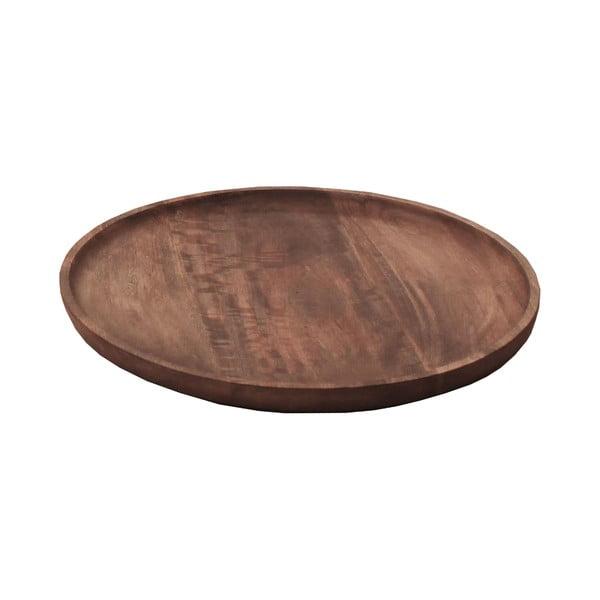 Dřevěný podnos Pablo, 40 cm