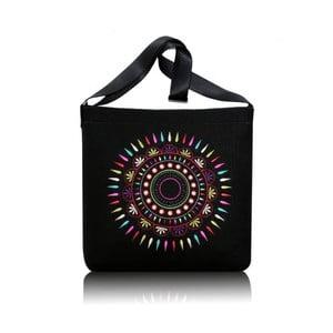 Plstěná vyšívaná taška Sol s nastavitelným popruhem