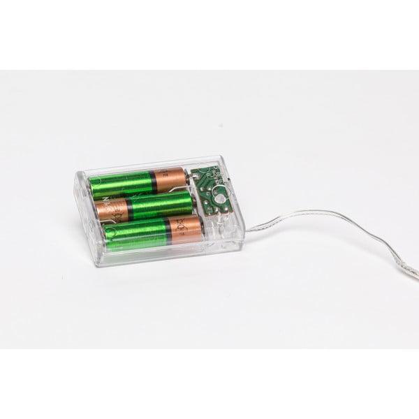 Ghirlandă luminoasă cu becuri LED Luuka, 30 becuri, portocaliu, cu baterie