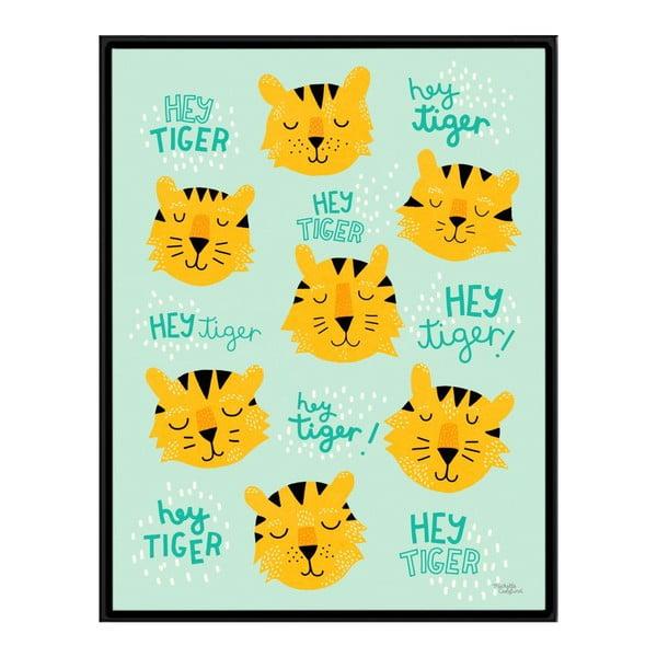 Plakát Michelle Carlslund Hey Tiger, 50x70cm