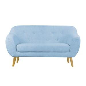 Modrá dvoumístná pohovka Helga Interiors Oslo