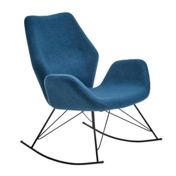 Niebieski fotel na biegunach House Nordic Nybro