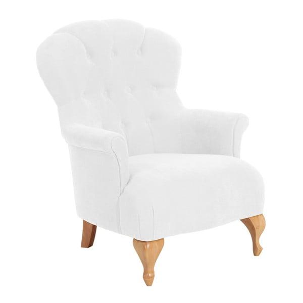 Camilla Velor krém színű fotel - Max Winzer