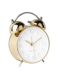 Ceas alarmă Karlsson Wake Up, auriu