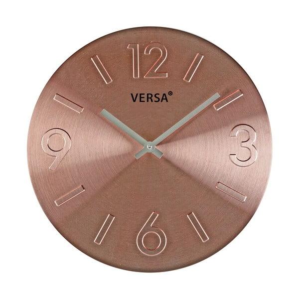 Versa Lock rézszínű falióra - VERSA