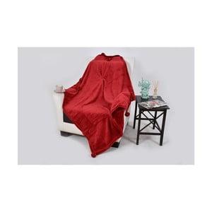 Deka s příměsí bavlny Dolce Bonita Vizon, 150 x 100 cm