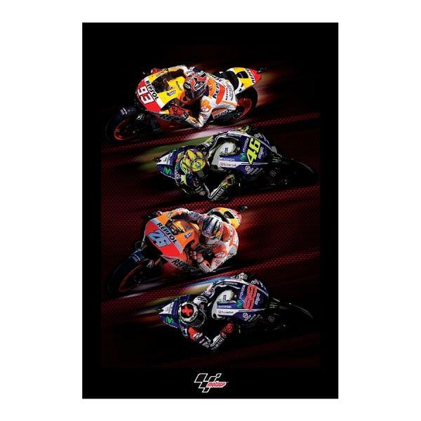 Velkoformátová tapeta Moto GP, 158x232 cm