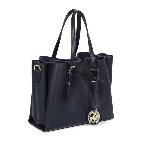 Tmavě modrá kabelka Beverly Hills Polo Club Alicia
