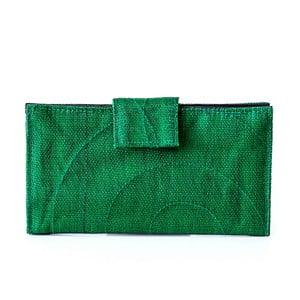 Peněženka na karty Wiky, zelená
