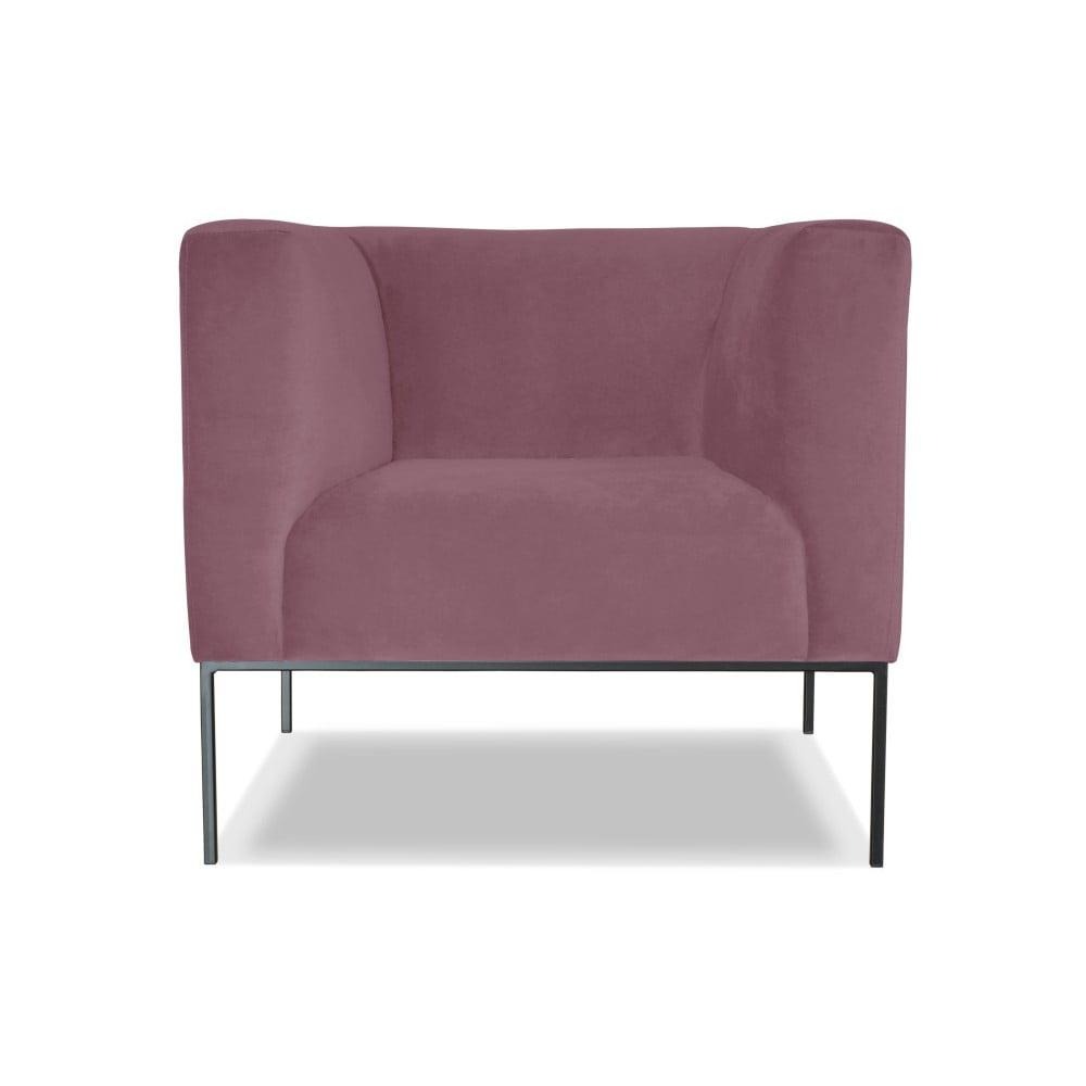 Růžové křeslo Windsor & Co. Sofas Neptune