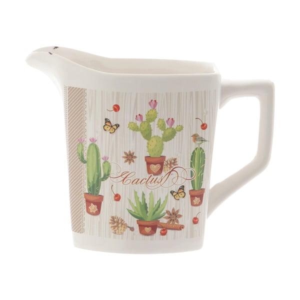 Ulcior din ceramică Kasanova Cactus, 1 l