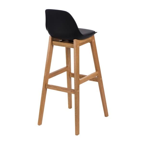 Černá barová židle D2 Norden Wood