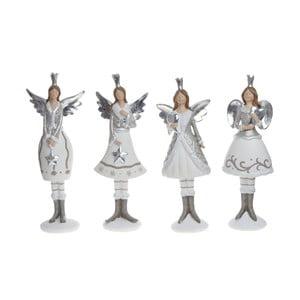 Sada 4 dekorativních sošek Ewax Angels III