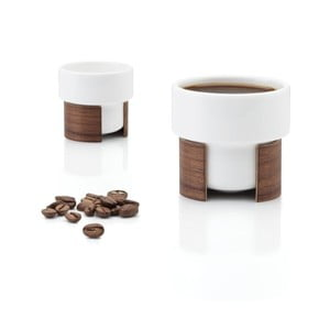Set hrnků na espresso Warm Walnut, 8 cl, 2 ks