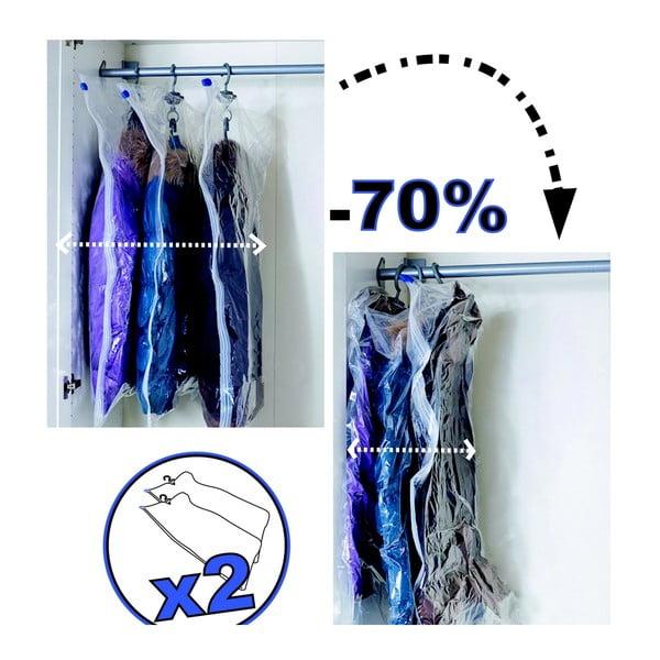 Sada 2 vakuových pytlů na oblečení Jocca Hanger
