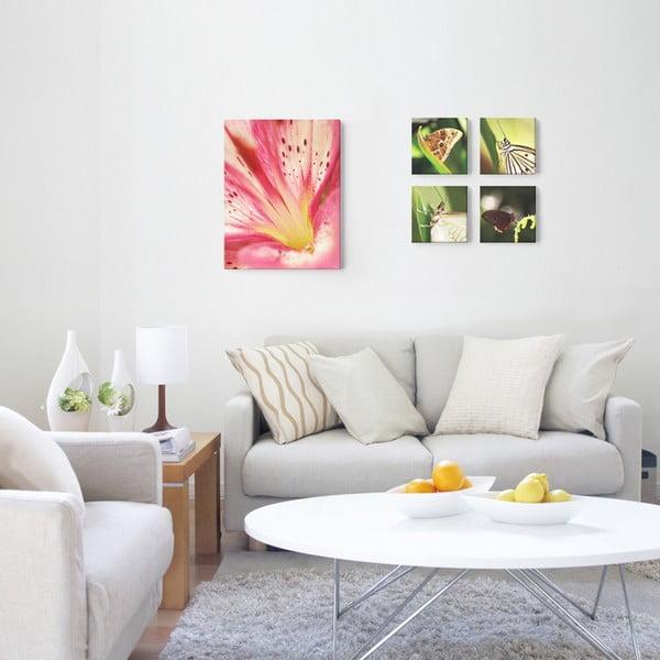 Fotoobraz Fialovorůžový květ, 40x60 cm, exkluzivní edice