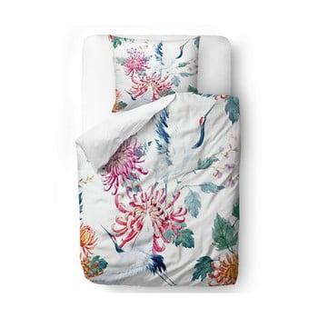 Lenjerie de pat din bumbac satinat Butter Kings Asian Barker, 200 x 200 cm