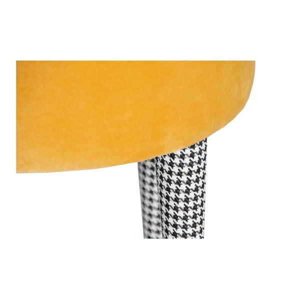 Taburetka Pepi, žlutá