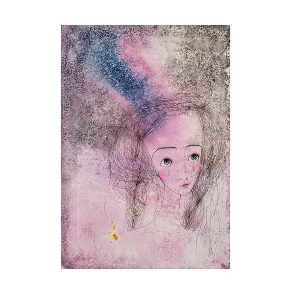 Autorský plakát od Lény Brauner Líba, 40x55 cm