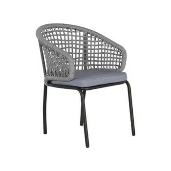 Set 2 scaune de grădină Monobeli Ibiza, gri imagine