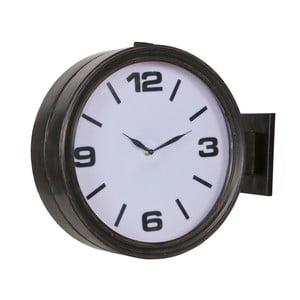 Ceas de perete De Eekhoorn Headstation, negru