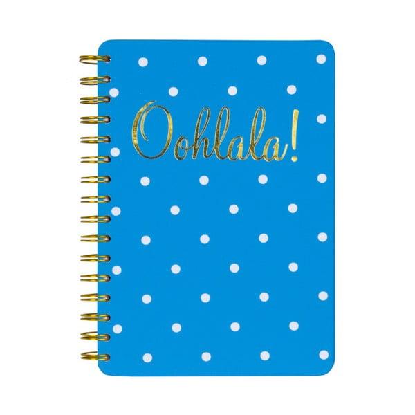 Spirálový zápisník Tri-Coastal Ohlala!