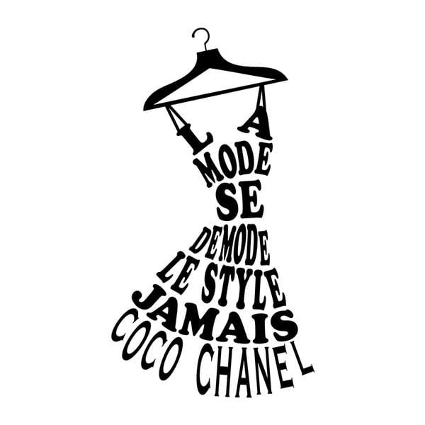 Autocolant Ambiance Coco Chanel Quote