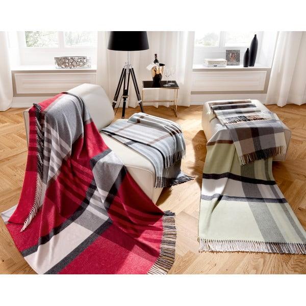 Deka Karo Rot, 150x200 cm